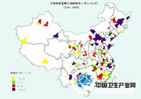 """中国死亡地图"""""""