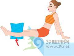 睡前小动作轻松瘦双腿(图)