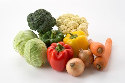 蔬菜中含有的多种营养素
