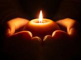 为灾区人民祈祷