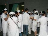 救灾现场不平凡的护士节