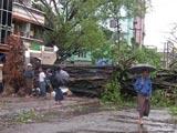 风暴过后的仰光市区
