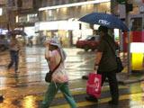 香港:黄色暴雨警告