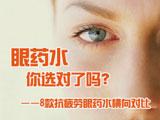 8款抗疲劳型眼药水横向对比