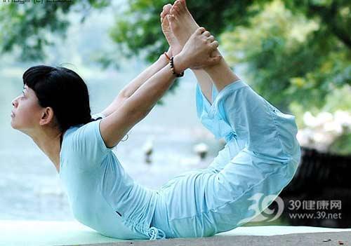瑜伽体式:反弓式