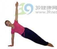 瑜伽体式:侧斜板式