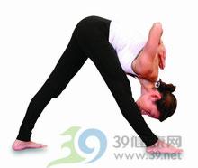 瑜伽体式:侧前伸展式