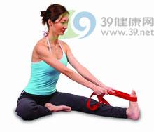 瑜伽体式:单脚背部伸展式