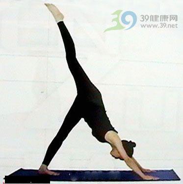 瑜伽体式:俯脸狗式