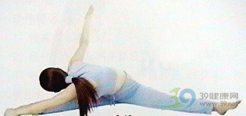 瑜伽体式-旁扭式