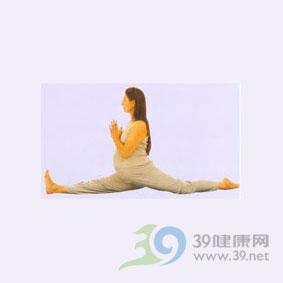 瑜伽�w式--劈腿式