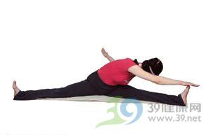 瑜伽体式--躯触趾式