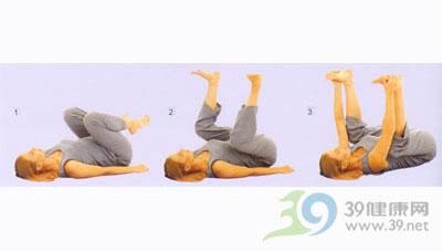 瑜伽体式--婴儿式