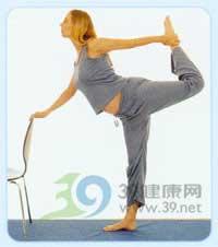 瑜伽体式--舞蹈式