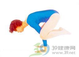 瑜伽体式:鹤禅式
