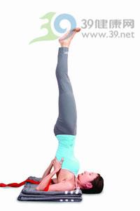 瑜伽体式:肩立式