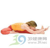 瑜伽体式--头碰膝前曲式