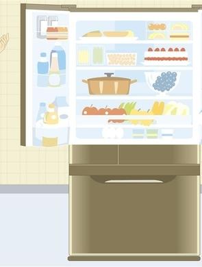提醒!冰箱摆放要区分层次