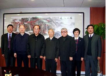 国家卫生部部长高强会见中国医药卫生事业发展基金会理事长王彦峰