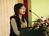学生代表(北京大学)胡璇