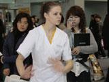 国际美容师展现最新美体技术