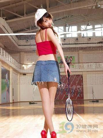 打羽毛球是否减肥