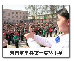河南宝丰县第一实验小学