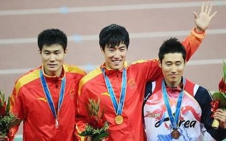 男子110米栏 中国选手刘翔三连冠