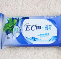 EC薄荷湿巾