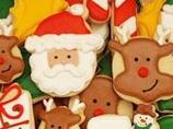 圣诞节美食超卡哇伊饼干