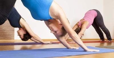 热瑜伽:半龟式图片