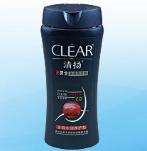 清扬男士多效水润养护型去屑洗发露