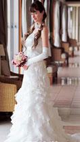 瘦新娘穿婚纱的妙招