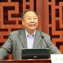 中华中医药学会中医药文化分会秘书长温长路教授:论坛发出了中医的声音!