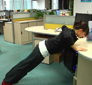办公室减肥系列花絮