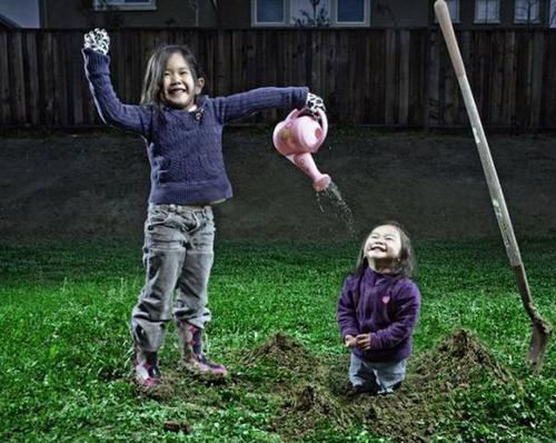 宝宝趣图之家有俩宝的快乐与哀愁