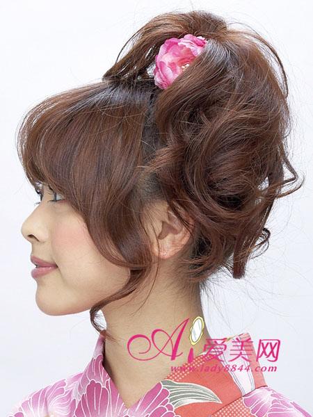 心形发型编法图解步骤