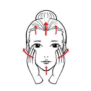 图解精油排毒护肤的按摩手法