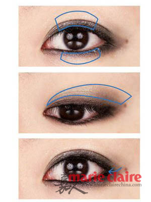 珠光眼影棒的画法步骤图片