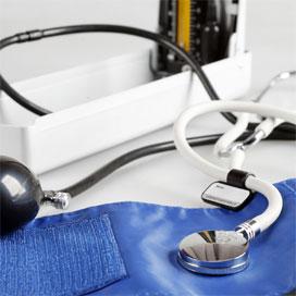 高清图解如何使用水银血压计测血压