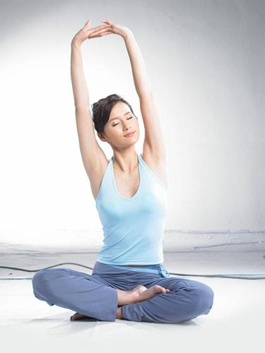 清晨健身瑜伽操 美好一整天