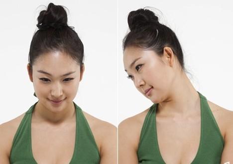 最简单有效的瘦脸方法 瘦脸瑜伽动作详解(组图)