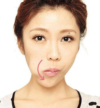 舌头转一转 随时抵御法令纹