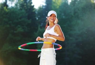 有氧呼啦圈瘦腰 每日10分钟缔造完美腰线