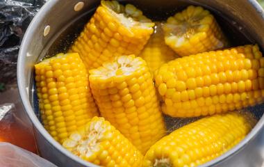 牛奶玉米叮的做法步骤4:完成