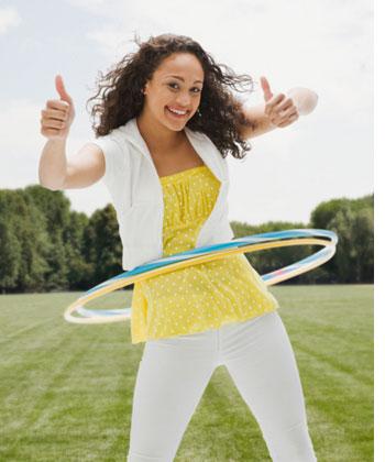 腹部运动减肥方法 塑造性感小腹