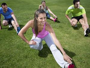 4个锻炼动作 塑造大长腿