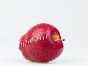 如何用苹果形状减肥!原来很简单