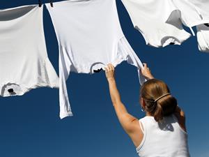 衣物洗涤释放化学