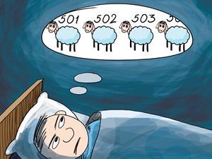 """失眠怎么办?老是失眠或是生活习惯""""出错"""""""
